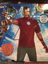 IRON MAN ~ Halloween Costume Kit ~ Men's Adult One Size ~ NEW