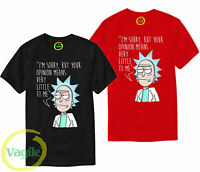 Rick and Morty T Shirt Pickle Rick Opinion Funny Joke Anime Birthday Gift Top