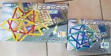 GEOMAG Color Magnetbaukasten (44 Teile + 110 Teile)