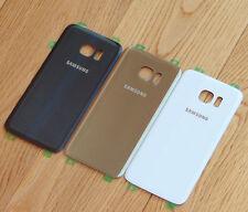 Marca Original Samsung Galaxy S7 EDGE G935 TRASERO CRISTAL Tapa de la batería +