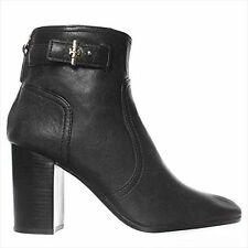 Tory Burch Kendall SEXY LEATHER Ankle Boot Black, 9.5M ***BRAND NEW***