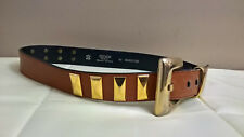 """ESCADA Women's VINTAGE Belt - End-to-end: 36"""" - Made in Western Germany"""