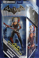 DC Universe BATMAN Arkham City_HARLEY QUINN 6 inch figure_Legacy Edition_New_MIP