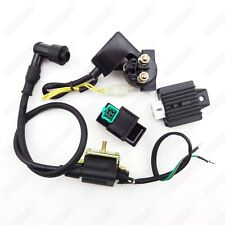 Ignition Coil CDI Rectifier Relay Kit 50 70 90 110 cc Chinese ATV Quad 4 Wheeler