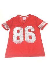 e2dfcabf7 Victoria s Secret PINK Collegiate Collection Nebraska Huskers Jersey Shirt  Small