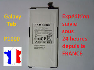 Battery New For Samsung Galaxy Tab Series P1000 - Reference: SP4960C3A