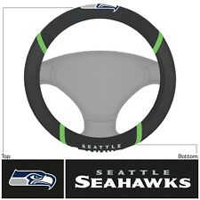 Fanmats NFL Seattle Seahawks Embroidered Steering Wheel Cover Delivery 2-4 Days