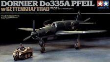 Tamiya 89598 1/48 Aircraft Model German Dornier Do335 A Pfeil w/Kettenkraftrad