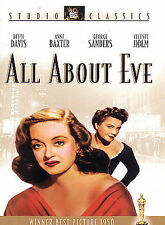 All About Eve (Dvd, 1950, Studio Classics)
