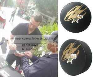 Brendan Morrow Dallas Stars Team Canada Autographed Signed Ice Hockey Puck Proof