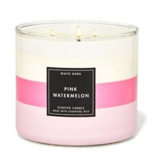 Bath & Body Works Pink Watermelon 3 Wick Scented Candle 14.5 oz