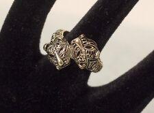 Gato de metal de color oro VINTAGE anillo-Bisutería-Chic-Europa Gastos de Envío Gratis