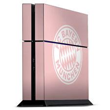 Sony Playstation 4 PS4 Folie Aufkleber Skin - Rosatraum FC Bayern München