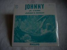 CD single Johnny Hallyday JE L'AIME-JUSQU'A MINUIT-Neuf