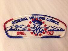 MINT CSP General Sullivan Council T-2a RWB Sequence Border