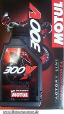 MOTUL 300v OFF ROAD RACING 15w50 Factory Dl MOTORE HONDA CRF CR-F 250 450