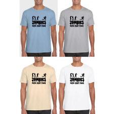 Zombie Regular Size Short Sleeve T-Shirts for Men
