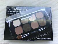 bareMinerals Travel Exclusive THE SUEDE NEUTRALS Eye Shadow Palette BNIB