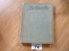 VINTAGE BOTTICELLI BOOK WITH PICTURES