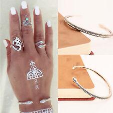 1 Stk Damen Schlange Armband Armbänder Open Armschmuck Snake Bracelets Armreif