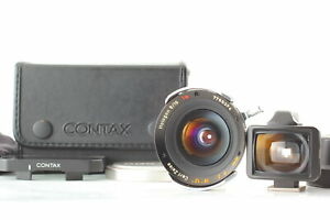 TOP MINT IN CASE Contax Carl Zeiss G Hologon T* 16mm f8 Lens For G1 G2 JAPAN
