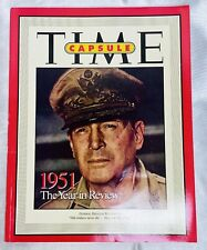 Time Magazine Capsule 1951 Year in Review General Douglas MacArthur 2001 MINT