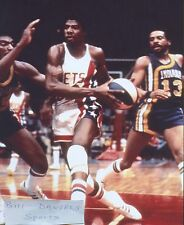 Julius Dr J Erving ABA NETS ROGER BROWN  DON FREEMAN  PACERS  8 X 10 PHOTO 2