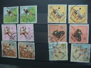 Macau 1962 Sports Stamps Used Set X 2 RARE
