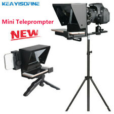 Portable Mini Teleprompter Inscriber Mobile for Smartphone DSLR Video Recording