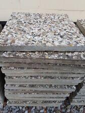 Waschbetonplatten ca. 30 qm