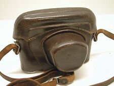 LEICA ORIGINAL LEATHER EVEREADY CAMERA CASE..FITS EARLY M MOUNT BODIES..LB2