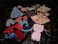 23 Clothes Items Ginny Madame Alex Barbie Hand Machine Made 1950's NO Tags (M9)