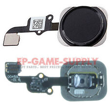 Home Button Flex Cable Ribbon Key Replacement For Apple iPhone 6S Plus Black