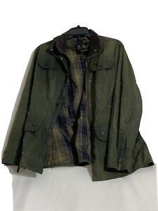 barbour dark green-usa size-8
