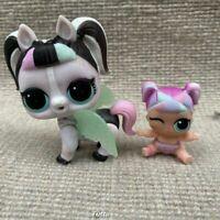 60% OFF LOL Surprise Doll Lil Unicorn Sis & Unipony Pony With Pet Jouets Poupées