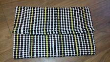 Ladies Ex Topshop Retro 1960's Striped Dots Multicoloured Fabric Clutch Bag