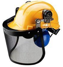 Impact Resistant Forestry Helmet head harness construction Hard Hat Visor P10