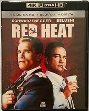 RED HEAT 4K ULTRA HD BLU RAY 2 DISC SET FREE WORLD WIDE SHIPPING BUY IT NOW FUN