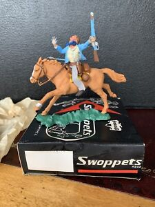 Herald Swoppet Mounted Cowboy By Britains In Very Good Condition