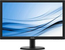 Philips V-Line 27 inch LED 1ms Monitor - Full HD 1080p, 1ms, Speakers, HDMI, DVI