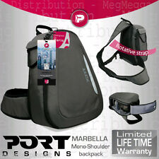 Port Designs Marbella SLR Camera +Lens Kit Quick-Access Swivel Backpack/Rucksack