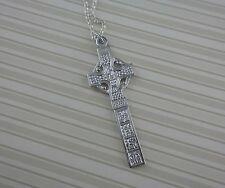 Sterling Silver Irish Ardboe Celtic Cross Made in Ireland by Fado