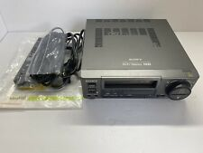 New listing Sony Ev-C100 Video Cassette Recorder With Remote Manual & Cords Tested Flawless
