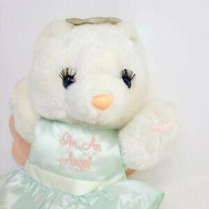 """Vintage 1988 House of Lloyd I'm an Angel Teddy Bear Plush Stuffed Animal 12"""""""