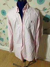 Ralph Lauren Pink Long Sleeve Shirt 17 34
