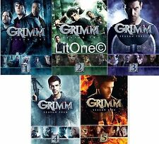 Grimm: Complete Seasons 1-5 Season (1 2 3 4 5) DVD BRAND NEW