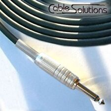 Canare GS-6 Low Noise OFC Guitar/Instrument Cable, Hand-Crafted, 20m, Black