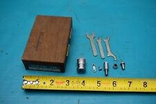 "USED MITUTOYO INSIDE MICROMETER SET 141-102 IMS-2"" WITH WOODEN BOX"