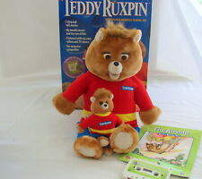 Teddy Ruxpin Animated Talking Toy 1998 New Open Box Airship Book and Tape