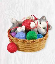 2010 Hallmark Cat Ornament MISCHIEVOUS KITTENS #12 *Priority Shipping*